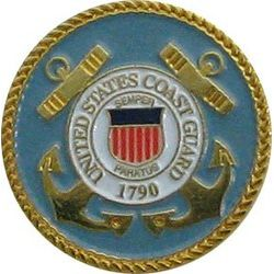 US Coast Guard Branch Pin 3/4