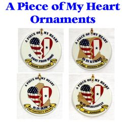 Porcelain Ornament - Piece of My Heart Thumbnail