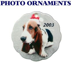Custom Photo Ornament (or other design) Thumbnail