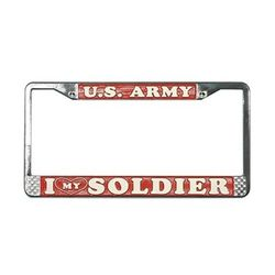 US Army I Love my Sodier License Plate Frame Thumbnail