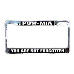 POW/MIA License Plate Frame (Limited Availability) Thumbnail
