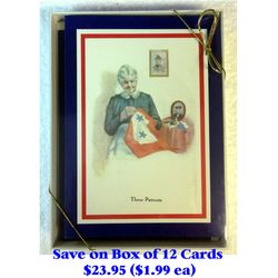 Box of 12 Patriotic Christmas Cards Thumbnail