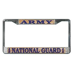 Army National Guard License Plate Frame version 2 Thumbnail