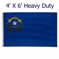 Spectrapro 4' X 6' Heavy Duty Outdoor Polyester Nevada Flag Thumbnail