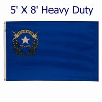Spectrapro 5' X 8' Heavy Duty Outdoor Polyester Nevada Flag Thumbnail