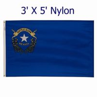 3' X 5'  Outdoor Nylon Nevada Flag (standard size) Thumbnail