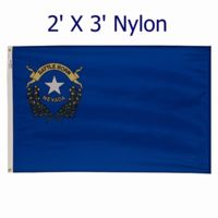 2' X 3'  Outdoor Nylon Nevada Flag  Thumbnail