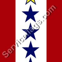 1 gold 4 blue stars service flag Thumbnail