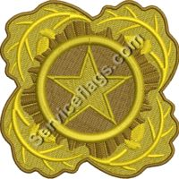 Next of Kin Gold Star Embroidery Image Thumbnail