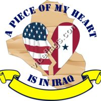 A Piece of My Heart is in Iraq Thumbnail