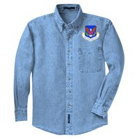 Long Sleeve Denim Shirt Thumbnail