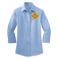 Ladies 3/4 Sleeve Easy Care Shirt Thumbnail